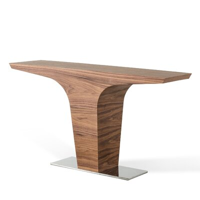 Belafonte Console Table Finish: Walnut