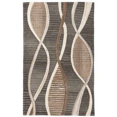 Silenus Brown Area Rug Rug Size: 8 x 10
