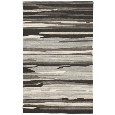 Midwood Hand-Tufted Tan/Gray Area Rug Rug Size: 5 x 76