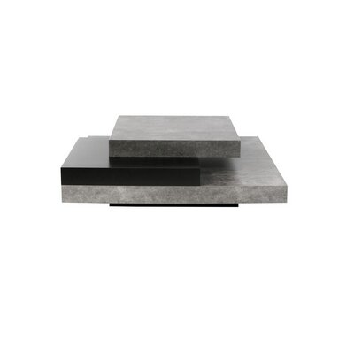 Norridge Coffee Table Finish: Concrete/Pure Black