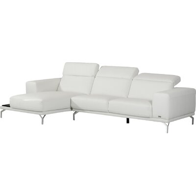 Alsatia Leather Sectional