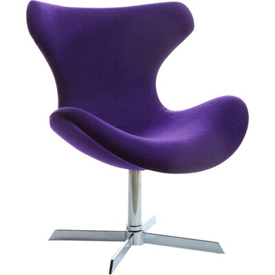 Belafonte Lounge Chair Upholstery: Purple