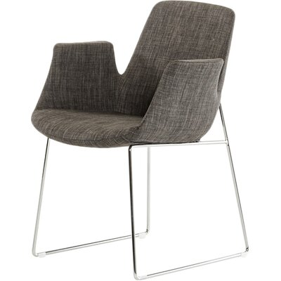 Belafonte Arm Chair Upholstery: Grey