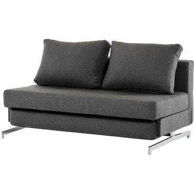Alsatia Sleeper Sofa Upholstery: Dark Grey