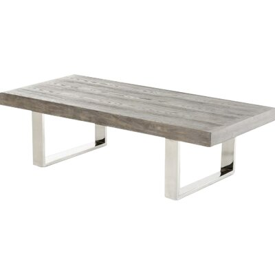 Camron Modern Rectangle Coffee Table