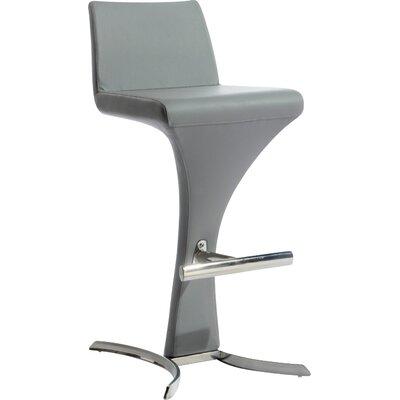 Conaway 30 Bar Stool Upholstery: Grey