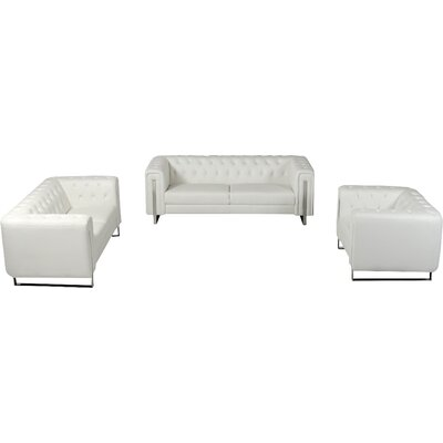 Alsatia 3 Piece Living Room Set