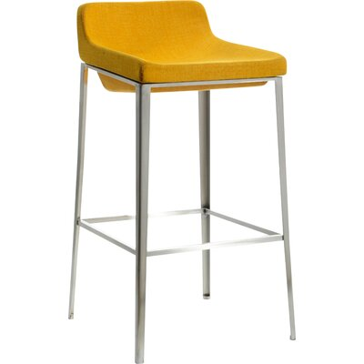Frankston 30 Bar Stool Upholstery: Yellow