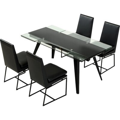 Marley Contemporary 5 Piece Dining Set