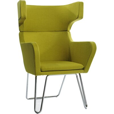 Belafonte Arm Chair Color: Green
