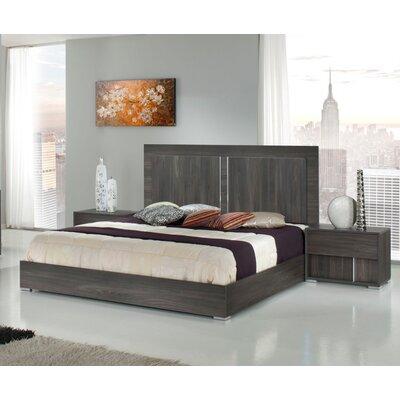 Shelburne Italian Platform Bed Size: King