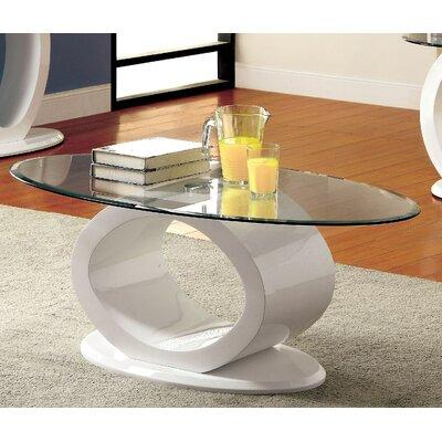 Louison Coffee Table Base Finish: White