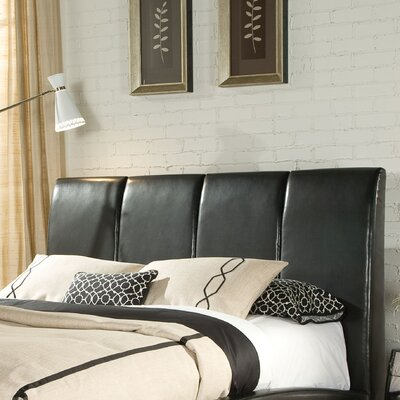 Sami Upholstered Panel Headboard Size: King