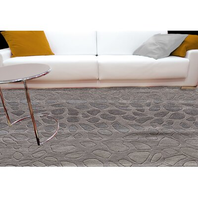 Alexina Hand-Tufted Silver Area Rug Rug Size: Runner 23 x 8