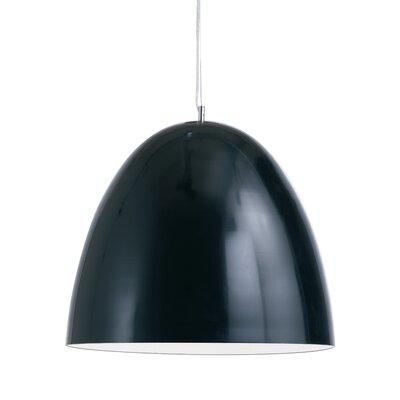 Brose Pendant Color: Black, Size: 16 H x 15.75 W