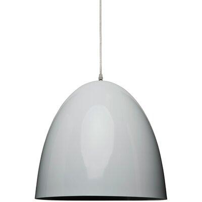 Brose Pendant Size: 23 H x 23.5 W, Color: White