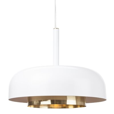 Lonergan Pendant Finish: White
