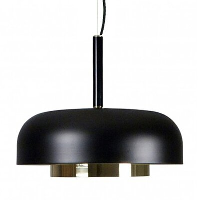 Lonergan Pendant Finish: Black