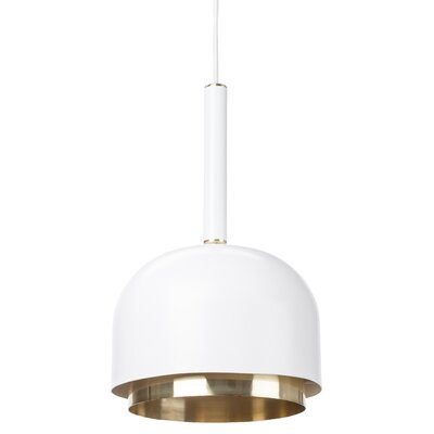 Brannen Mini Pendant Shade Color: White