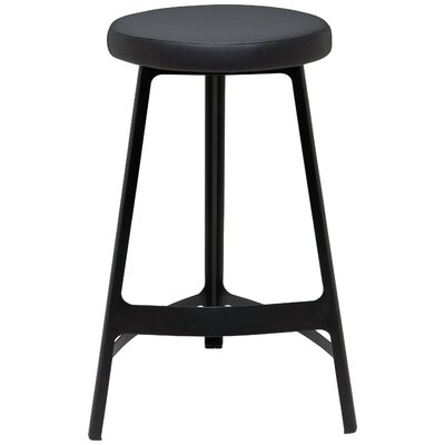Euphrates Bar Stool Finish: Black