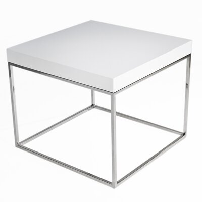 Mcnair End Table Finish: Alabaster