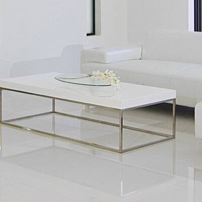 Mcnair Coffee Table Color: Alabaster