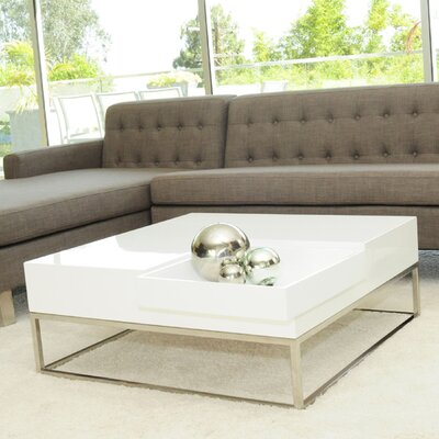 Mattox Coffee Table Finish: Alabaster