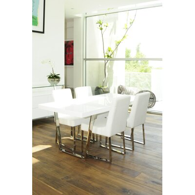 Mariscal Dining Table Finish: Alabaster