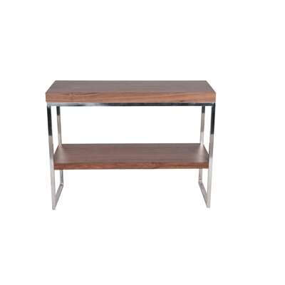 Mcnair Console Table Finish: Walnut