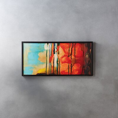 Hot + Cold Framed Painting Print WLGN4146 34269161