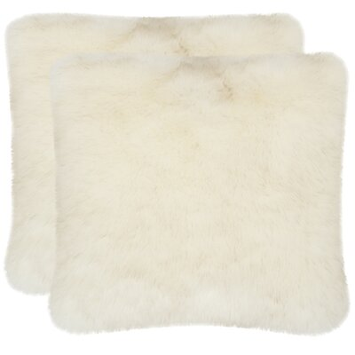 Ashanti Faux Shadow Fox Throw Pillows