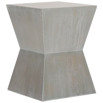 Mcarthur End Table Finish: White