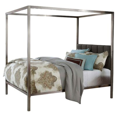 Esmont Canopy Bed Size: King