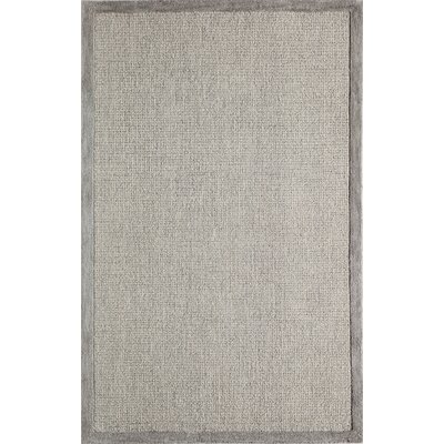 McCollum Hand-Tufted Gray Area Rug Rug Size: Rectangle 36 x 56