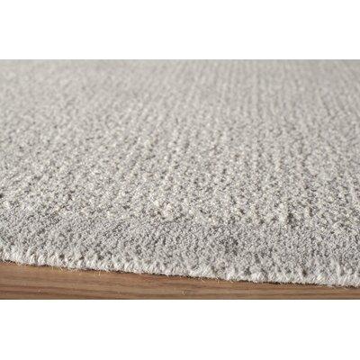 McCollum Hand-Tufted Gray Area Rug Rug Size: 36 x 56