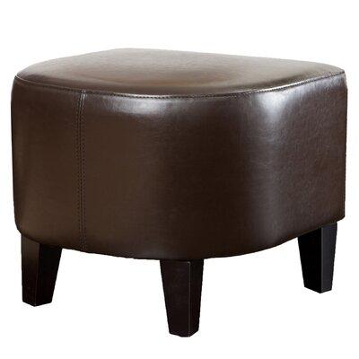 ellerbee leather ottoman upholstery