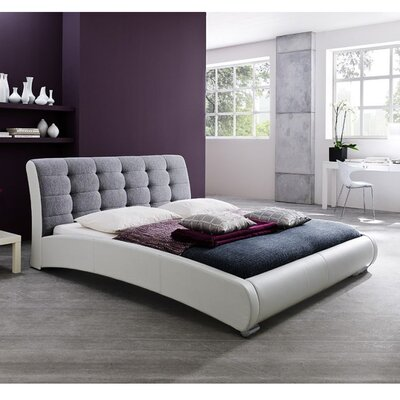 Maxon Upholstered Platform Bed Size: King