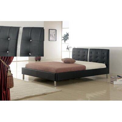 Marcantel Upholstered Platform Bed Size: Full, Upholstery: White