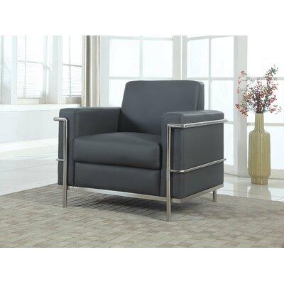 Selene Armchair Upholstery: Dark Gray