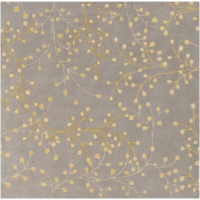 Middlebrooks Medium Gray Area Rug Rug Size: Square 8