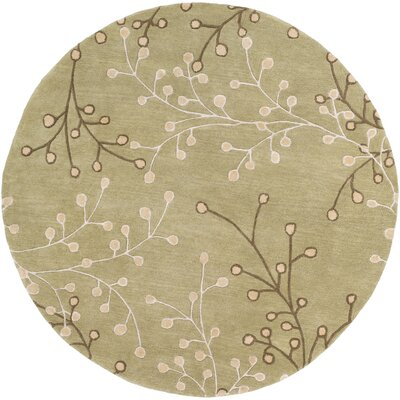 Lyons Multi-Colored Area Rug Rug Size: Round 6