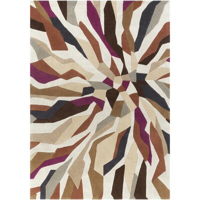 Beltran Hand-Tufted Multi Color Area Rug Rug Size: Rectangle 8 x 11