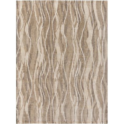 Darby Hand-Tufted Neutral Area Rug Rug Size: 8 x 11