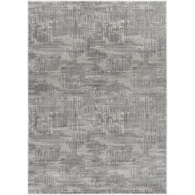 Zach Gray Area Rug Rug Size: Runner 23 x 71