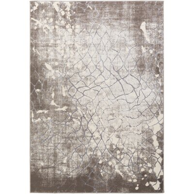 Anika Brown Area Rug Rug Size: 23 x 3