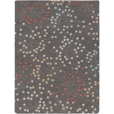 Alysa Green/Pewter Area Rug Rug Size: Rectangle 8 x 11