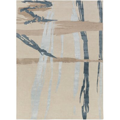 Alysa Ivory Area Rug Rug Size: Rectangle 2' x 3'
