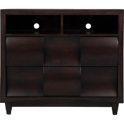Cleland Heights 2 Drawer Media Chest