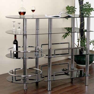 Lohmann Bar with Wine Storage