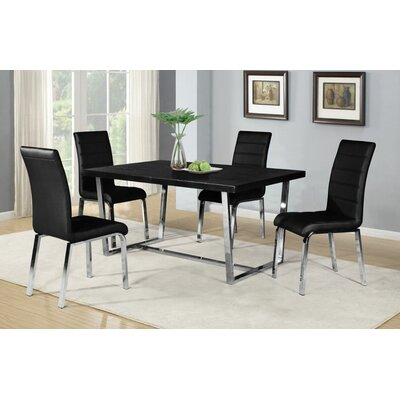 Ebro 5 Piece Dining Set